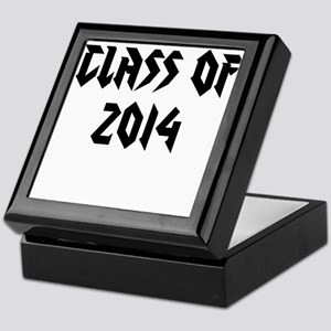 Class of 2014 metal design Keepsake Box