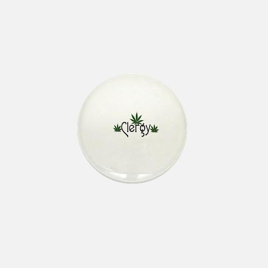 Funny Clergy Mini Button