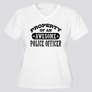 Property of an Awesome Police Officer Women's Plus