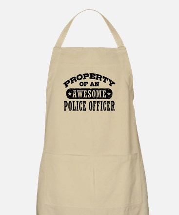 Property of an Awesome Police Officer Apron