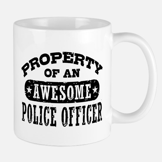 Property of an Awesome Police Officer Mug