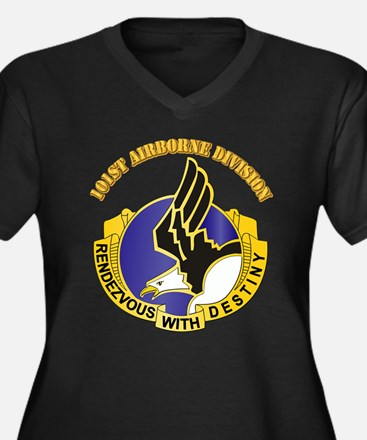 DUI - 101st Airborne Division with Text Women's Pl