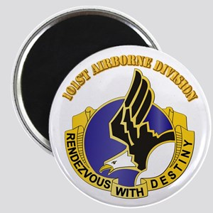 DUI - 101st Airborne Division with Text Magnet