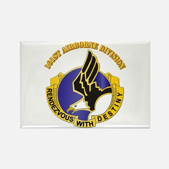DUI - 101st Airborne Division with Text Rectangle