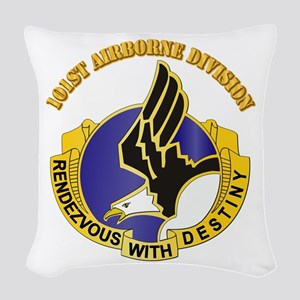 DUI - 101st Airborne Division with Text Woven Thro