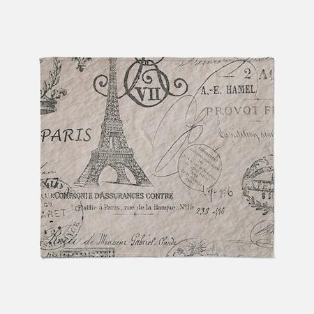 Vintage Paris Eiffel Tower Scripts