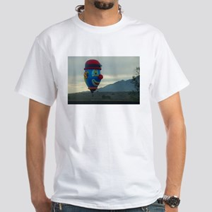 hot air clown White T-Shirt