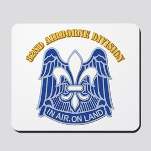 DUI - 82nd Airborne Division With Text Mousepad