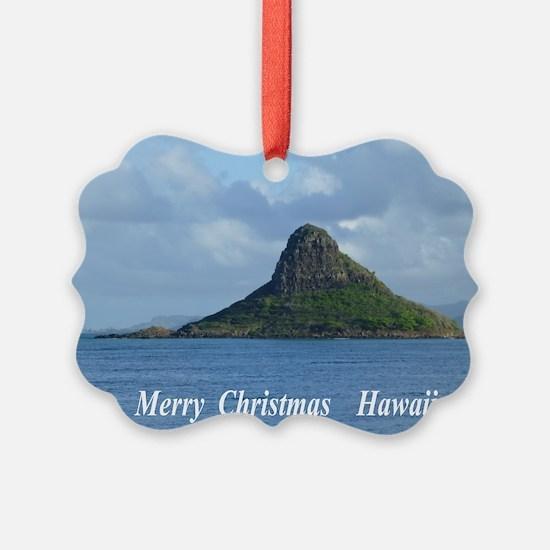 Chinamans Hat Hawaii Ornament
