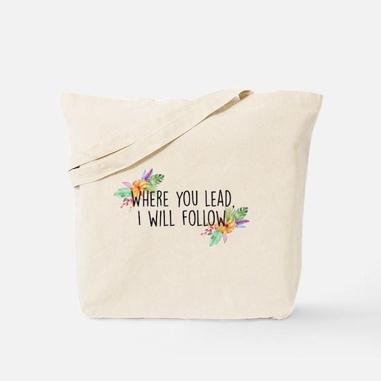 Cute Lead follow Tote Bag