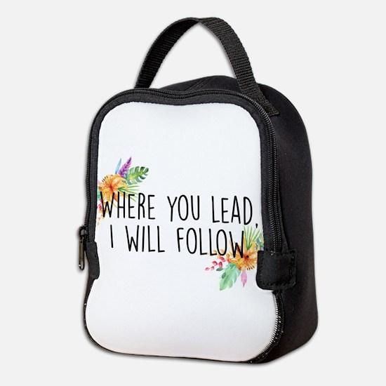 Cute Rory Neoprene Lunch Bag