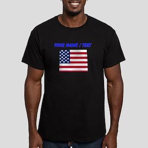 Custom Colorado American Flag T-Shirt