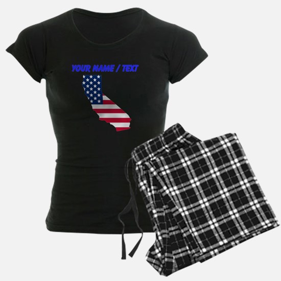 Custom California American Flag Pajamas