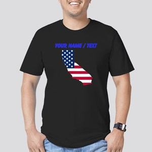 Custom California American Flag T-Shirt