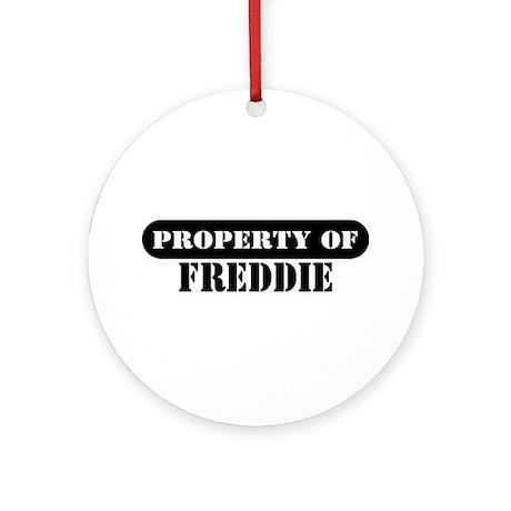 Property of Freddie Ornament (Round)