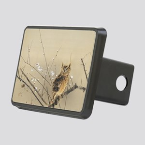 Early Plum Blossoms by Nis Rectangular Hitch Cover