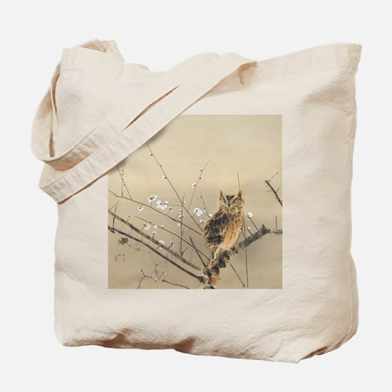 Early Plum Blossoms by Nishimura Goun Tote Bag
