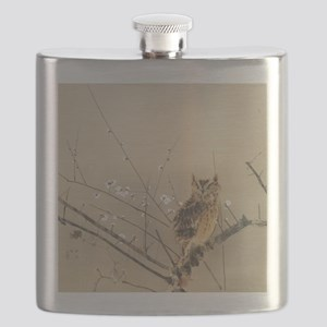 Early Plum Blossoms by Nishimura Goun Flask