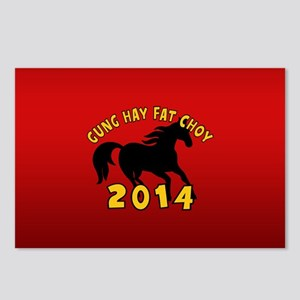 Chinese New Year of The Horse 2014 Postcards (Pack
