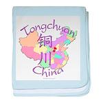 Tongchuan China baby blanket