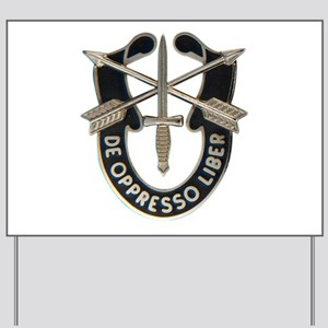 Special Forces Yard Sign