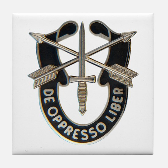 Special Forces Tile Coaster