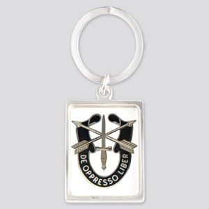 Special Forces Portrait Keychain