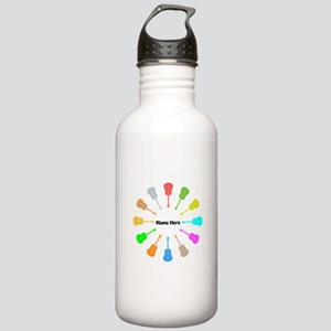 Guitars Personalized Stainless Water Bottle 1.0L