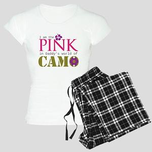 Pink In Daddys Camo World! Pajamas