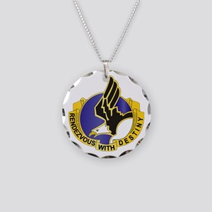 DUI - 101st Airborne Division Necklace Circle Char