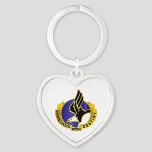 DUI - 101st Airborne Division Heart Keychain