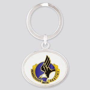 DUI - 101st Airborne Division Oval Keychain