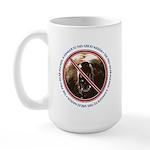 Pro-Bear Danger Large Mug