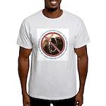 Pro-Bear Danger Ash Grey T-Shirt