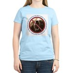 Pro-Bear Danger Women's Pink T-Shirt