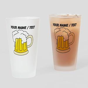 Custom Frosty Beer Drinking Glass