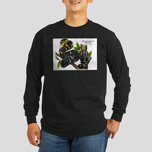 Mangrove Snake Long Sleeve Dark T-Shirt