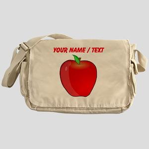 Custom Apple Messenger Bag