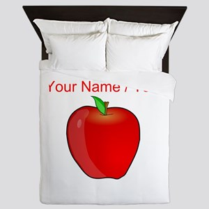 Custom Apple Queen Duvet