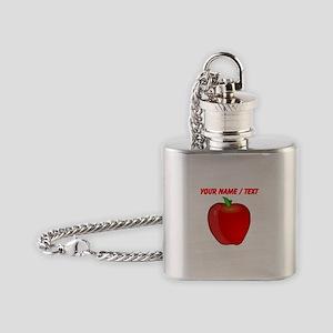 Custom Apple Flask Necklace