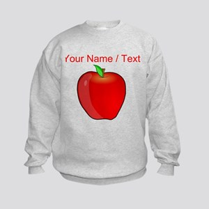 Custom Apple Sweatshirt