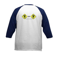 Cthulhu Crossing! (2-Sided) Kids Baseball Jerse