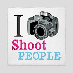 I Shoot People Queen Duvet