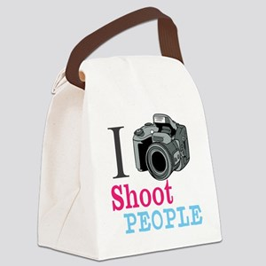 I Shoot People Canvas Lunch Bag