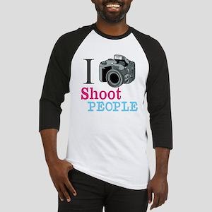 I Shoot People Baseball Jersey