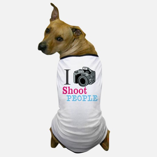 I Shoot People Dog T-Shirt