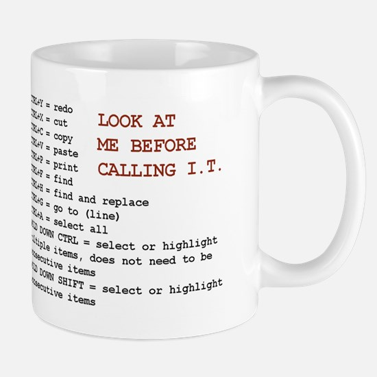 the I.T. savior! Mug