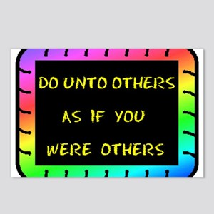 DO UNTO OTHERS Postcards (Package of 8)