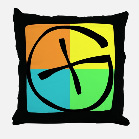 Unique Geocaching Throw Pillow