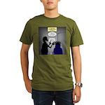 Is it Better 1 or 2? Organic Men's T-Shirt (dark)